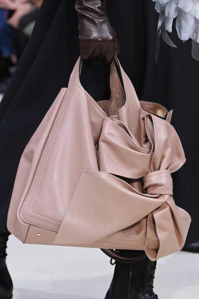 Модные сумки с бантами 2020 фото