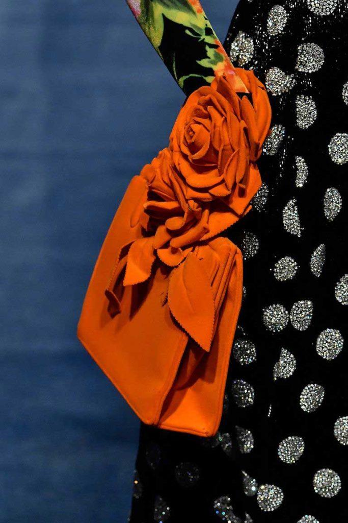 Сумки с цветами Осень 2020 фото