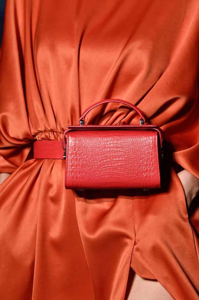 Модные поясные сумки 2020 фото