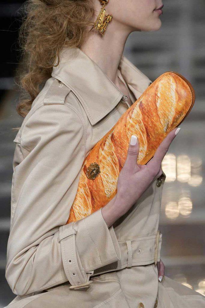 Оригинальные дизайнерские сумки сумка-батон 2020 фото