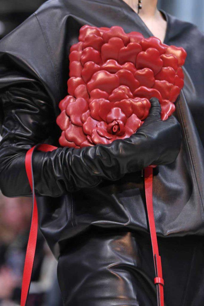 Брендовые сумки с цветами 2020 фото