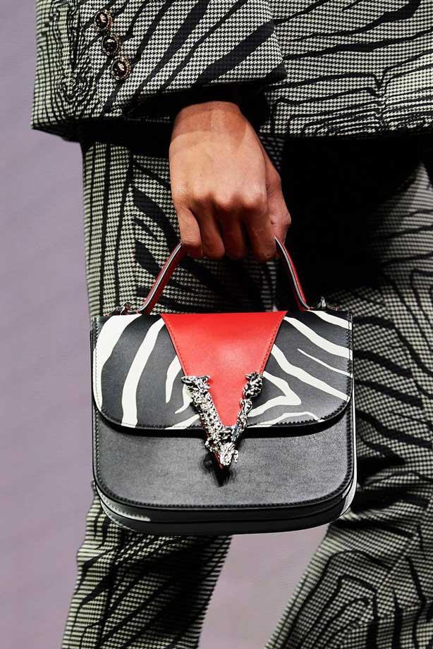 Модные сумки под зебру 2020 фото
