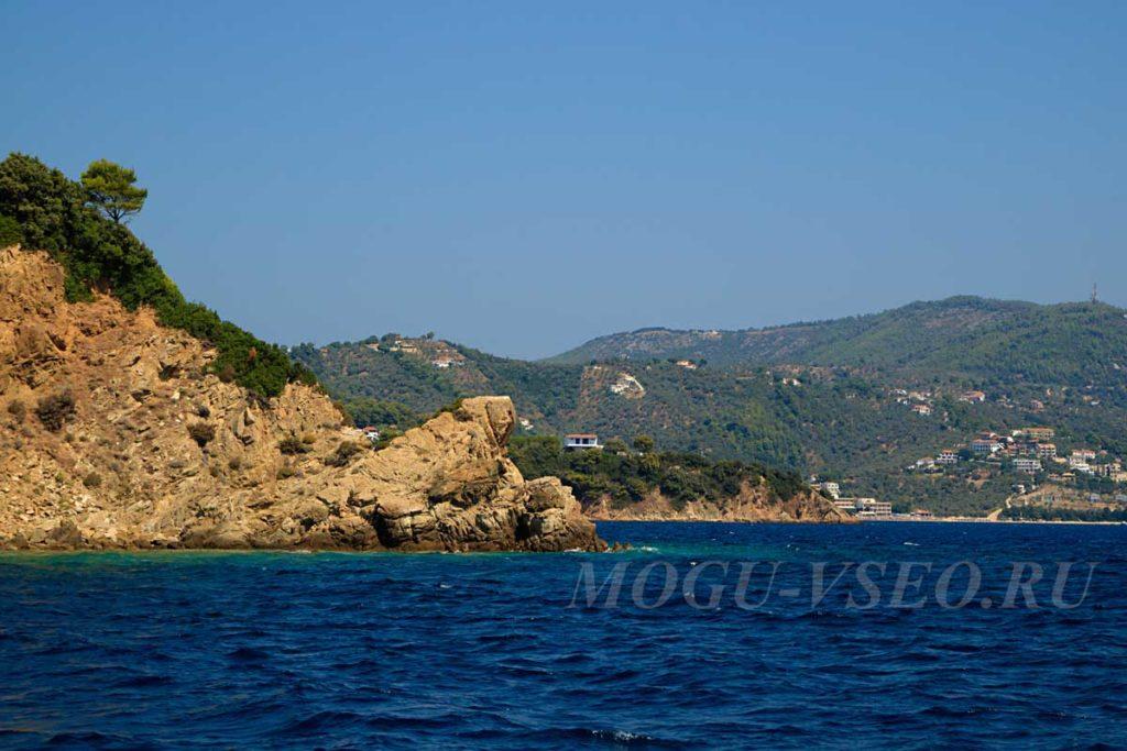 остров Скиатос фото