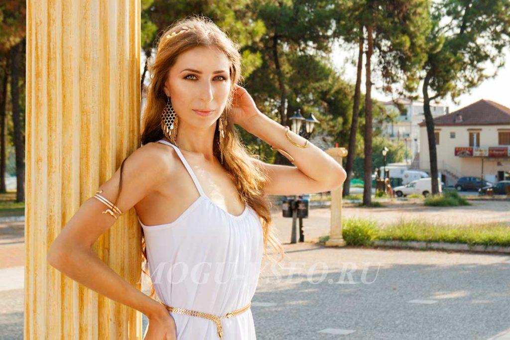 фотосессия греческая богиня фото