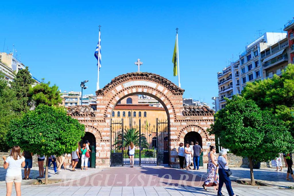Салоники арка фото