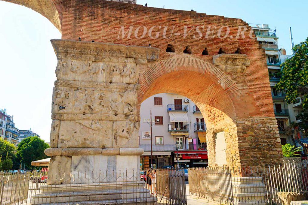 Салоники руины арка фото