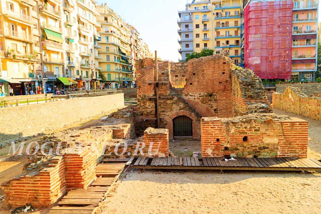 Салоники руины фото