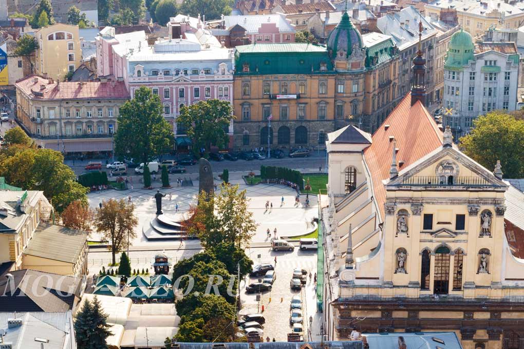 город Львов центр фото