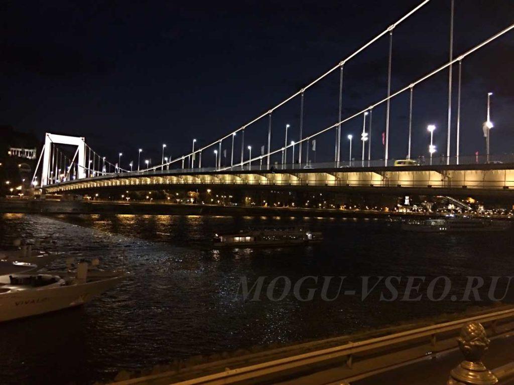Ночной Будапешт фото