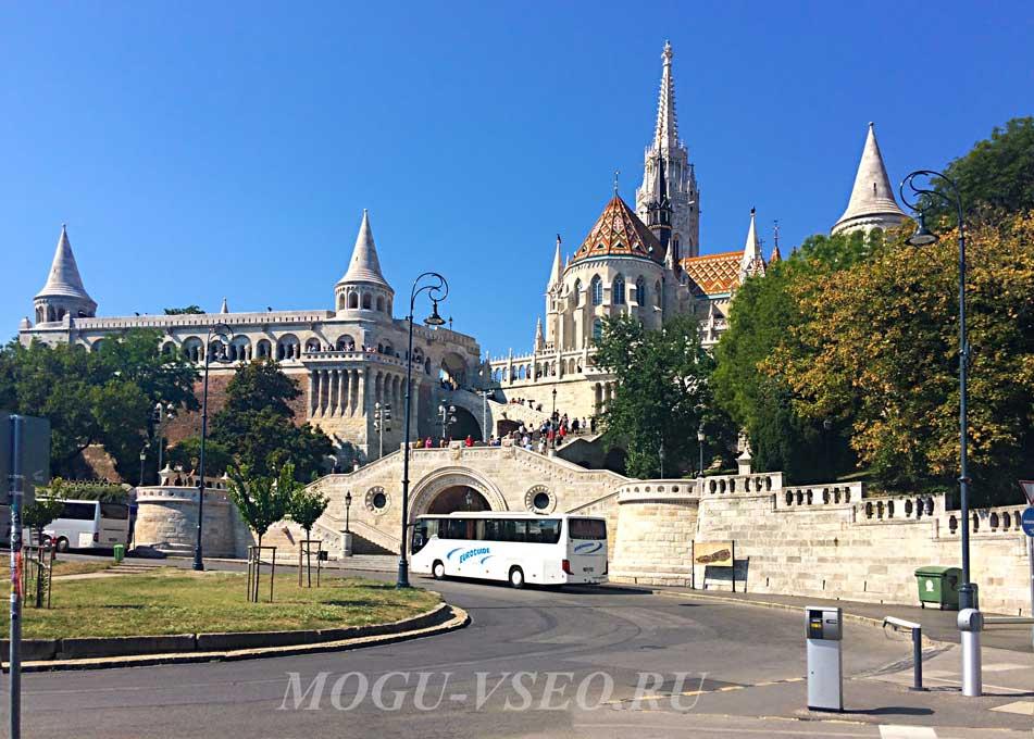 Будапешт рыбацкий бастион фото