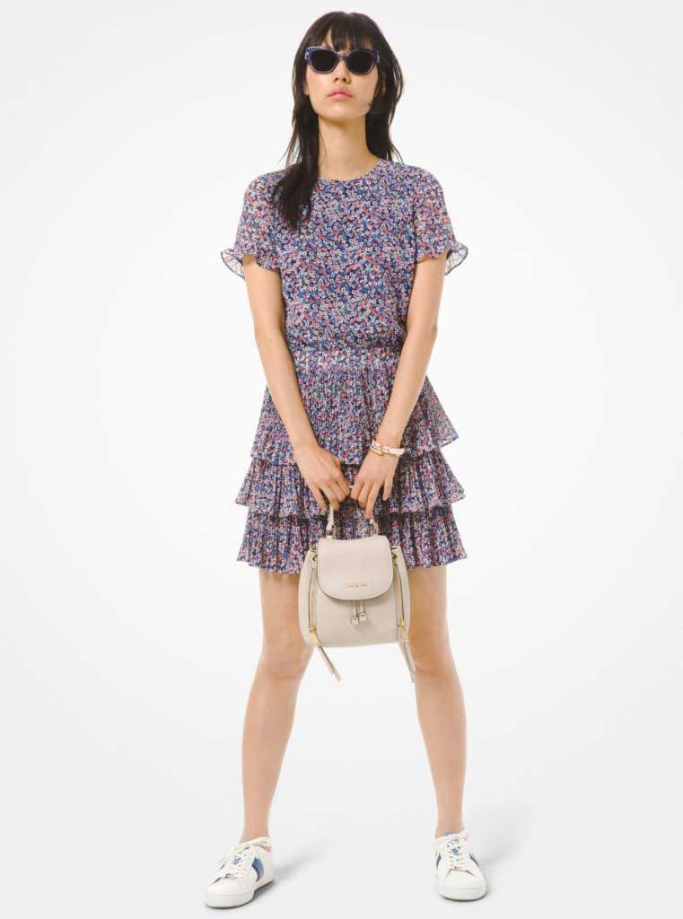 тренды сезона весна-лето 2020 платье в цветочек