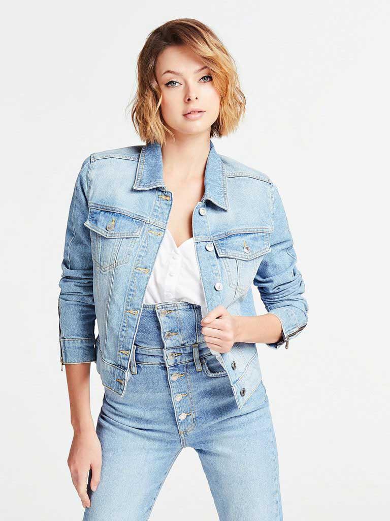 тренды сезона лето 2020 джинсовые куртки