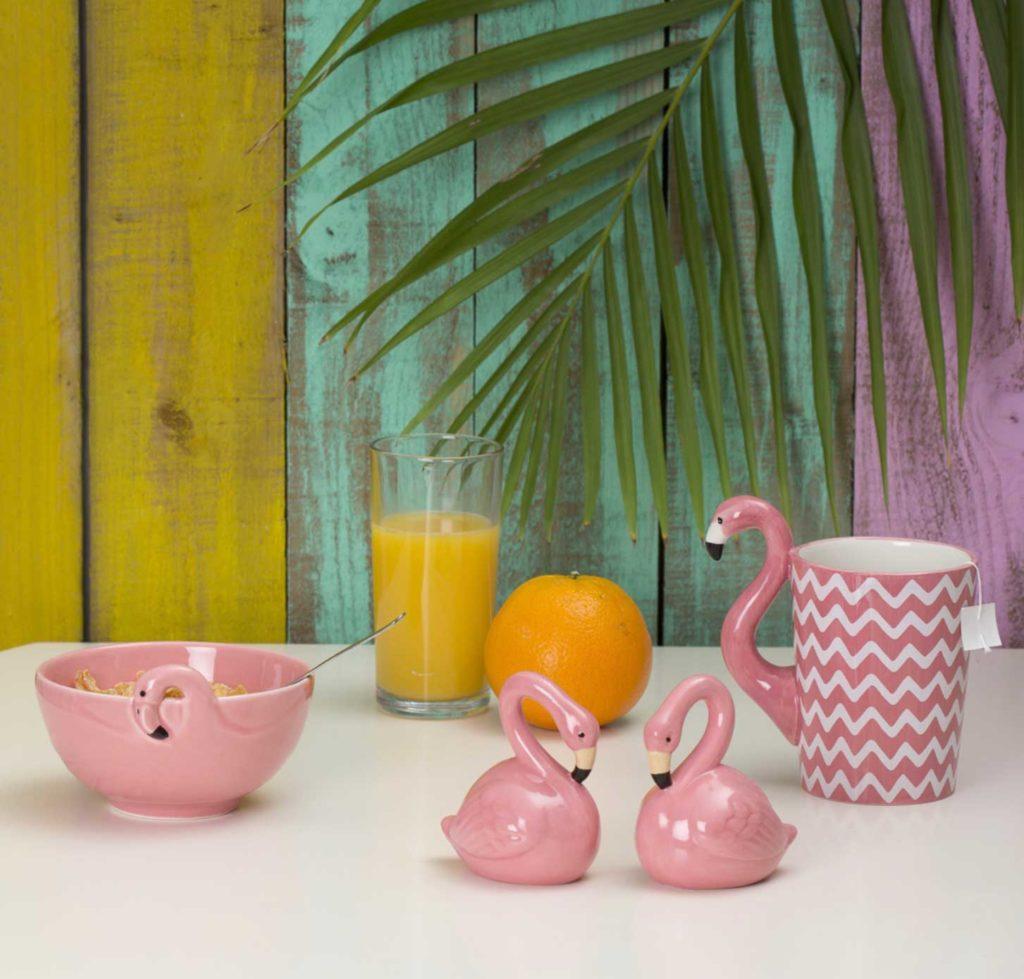 Посуда в виде животных фламинго Sass&Belle фото