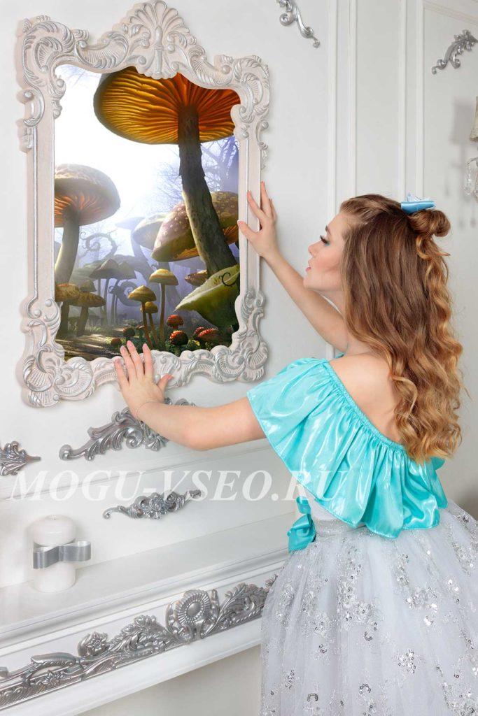 фотосессия Алиса в Зазеркалье фото
