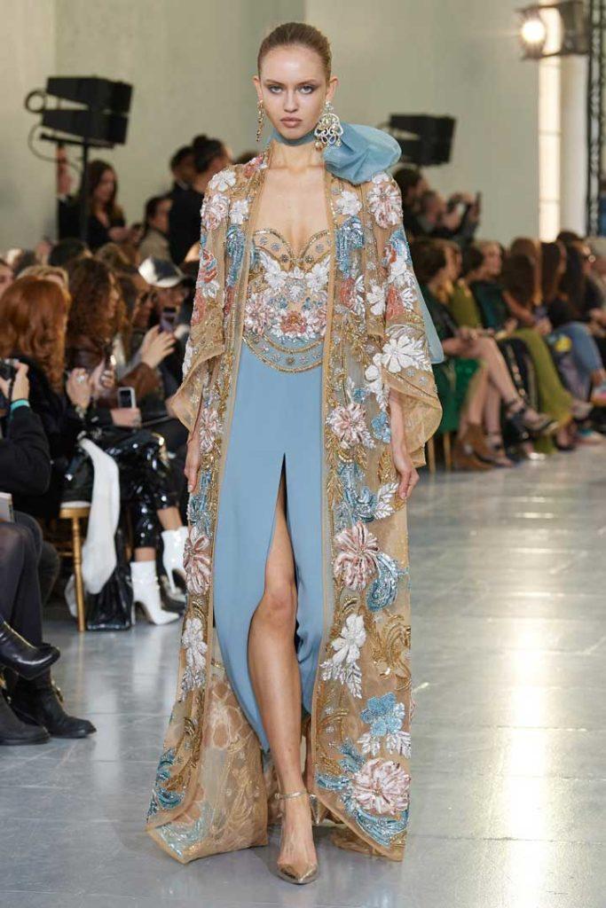 платья Elie Saab весна 2020 haute couture