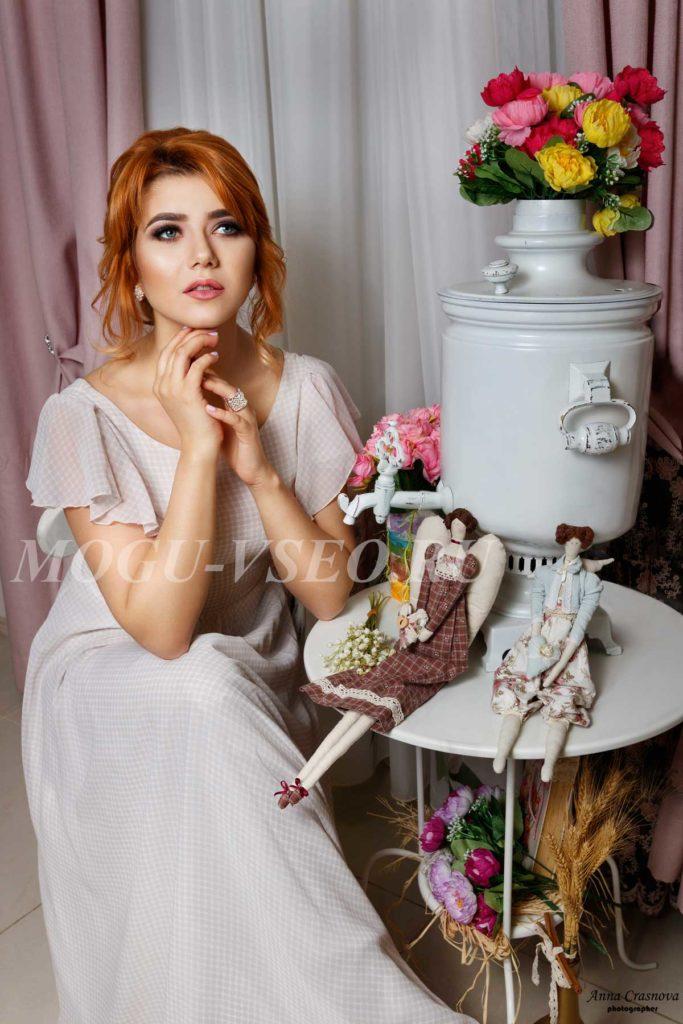 фотосессия свадебный образ фото
