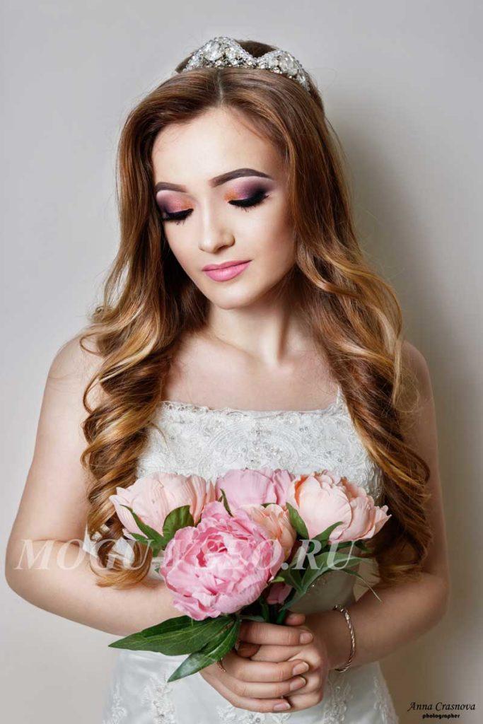 фотосессия свадебный макияж фото