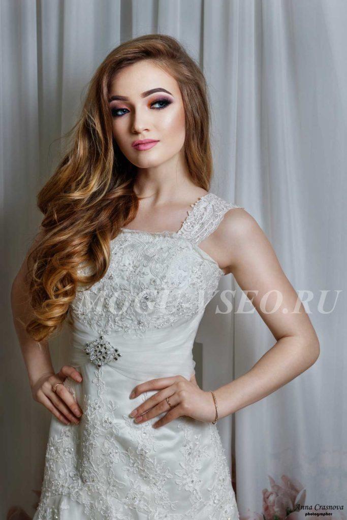 фотосессия свадебный макияж и укладка фото