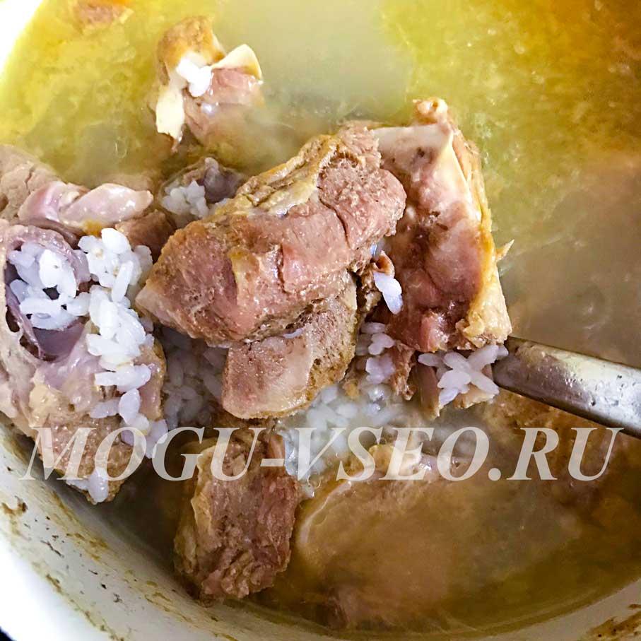 как приготовить суп харчо фото