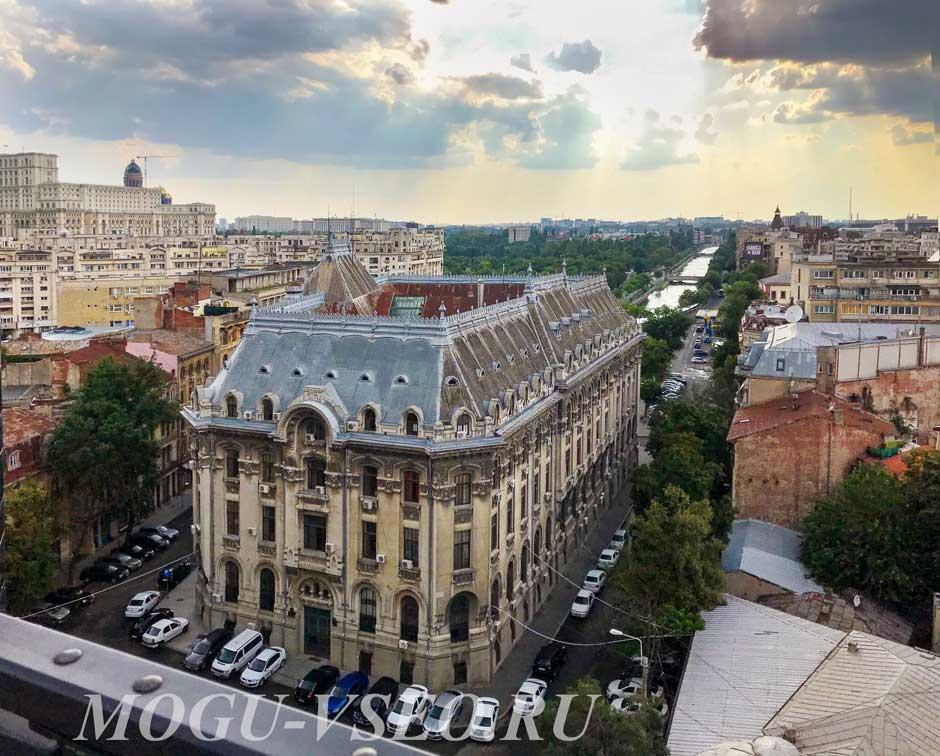 Бухарест вид на город фото