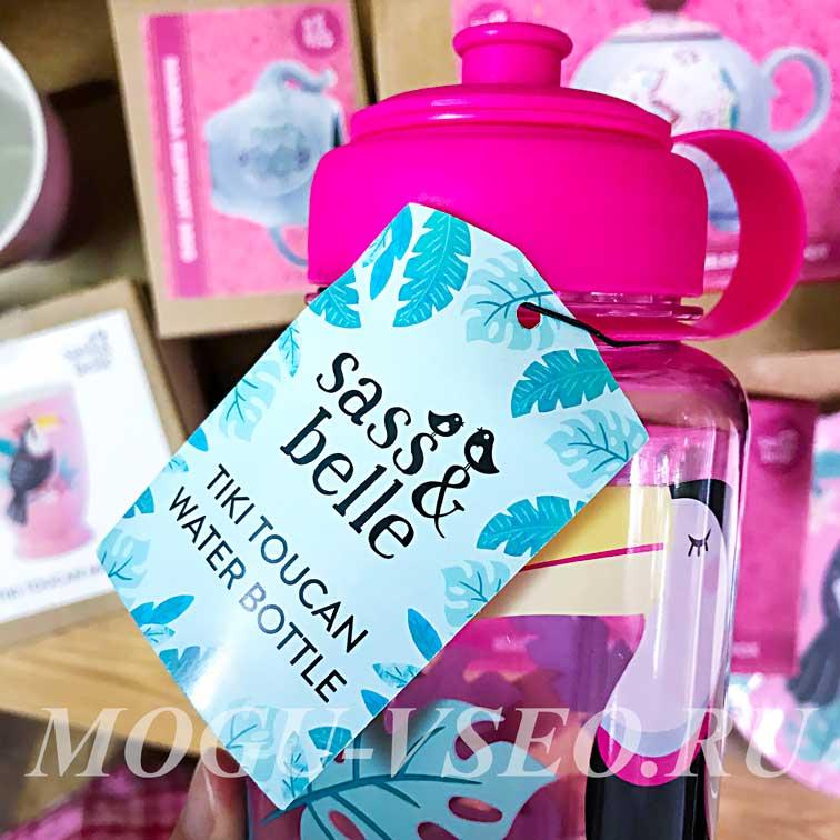 бутылка для воды Sass & Belle фото