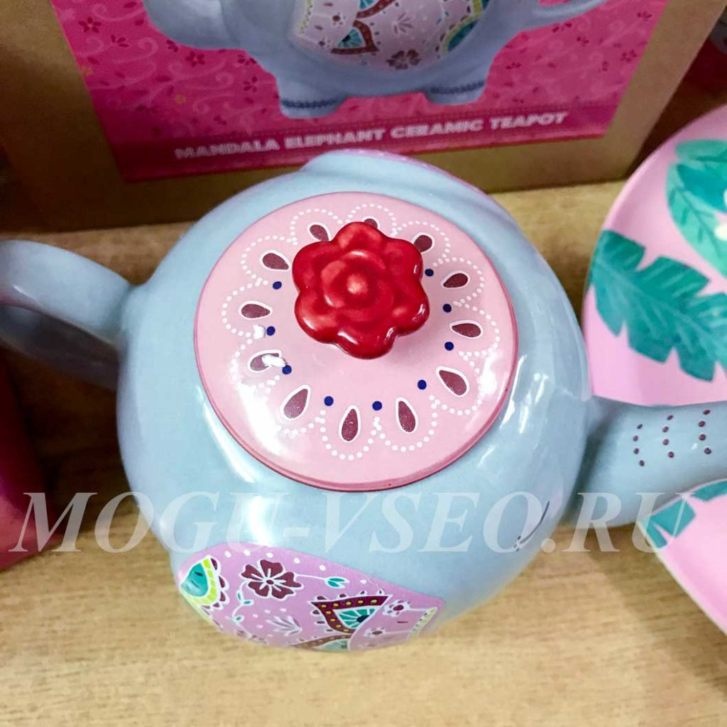 керамический заварочный чайник слоник Sass & belle фото