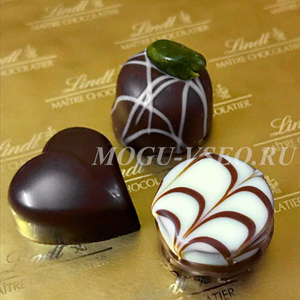 конфеты lindt mini pralines обзор фото