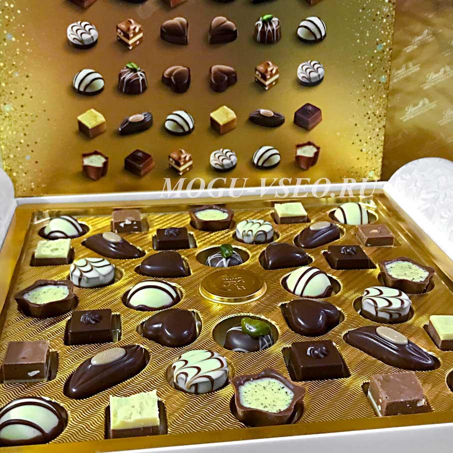 конфеты lindt mini praline обзор фото