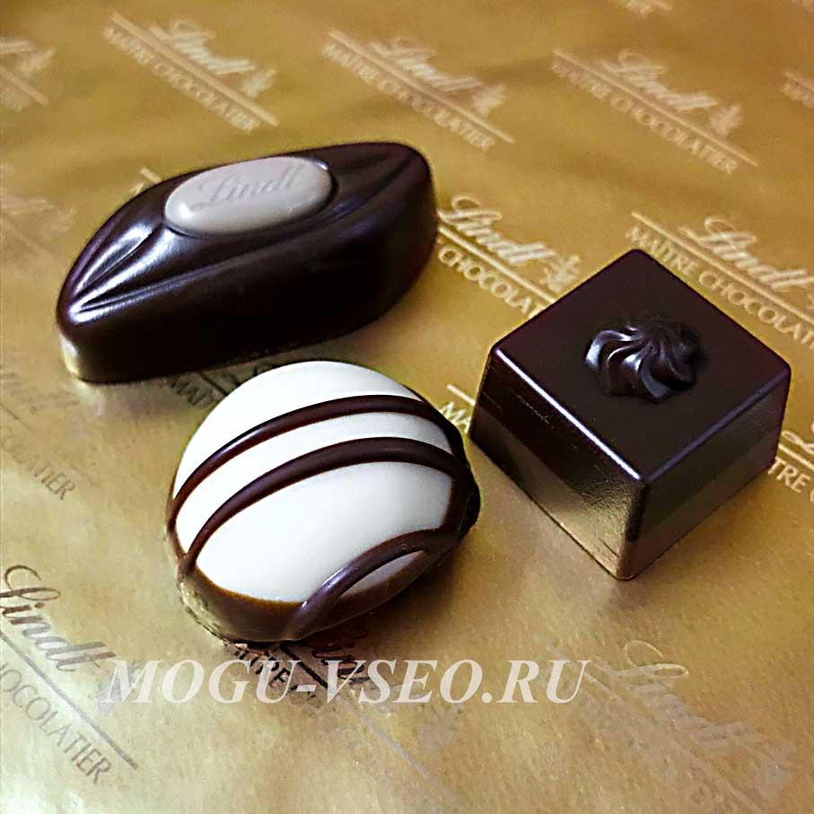 конфеты lindt mini pralines фото
