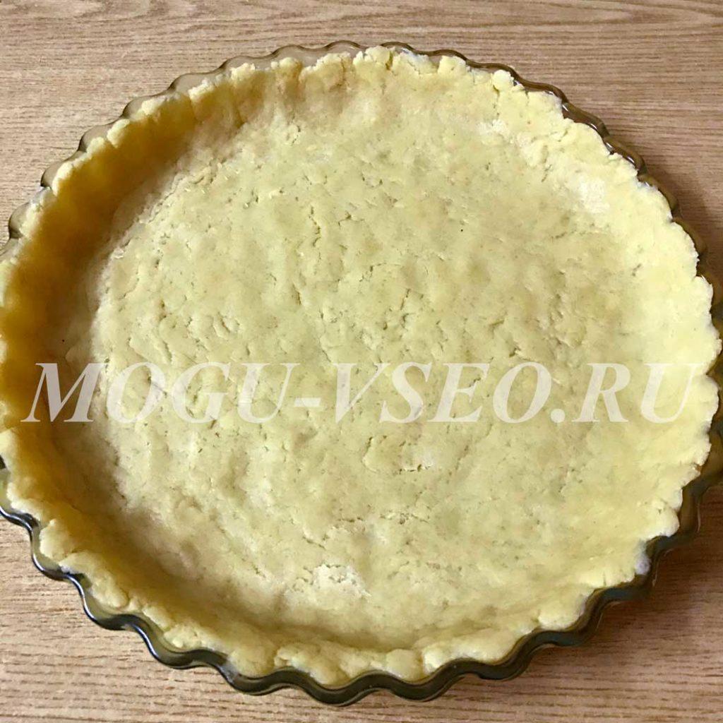 пирог из песочного теста фото