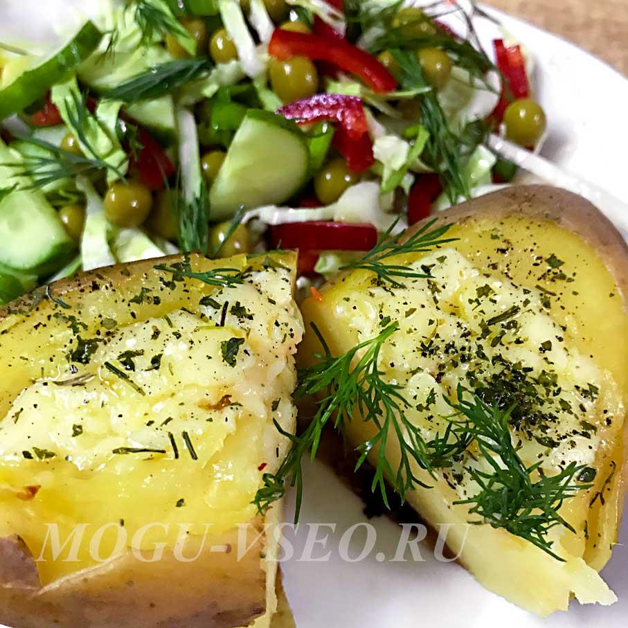 отварной картофель запеченный с сыром в духовке рецепт фото