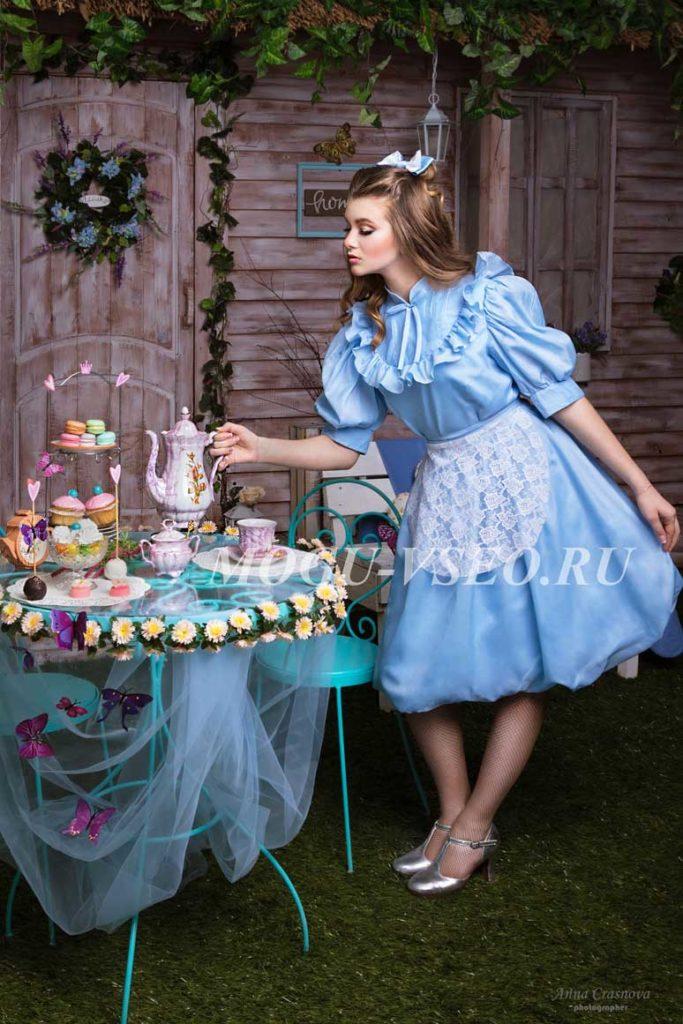 Алиса в стране чудес чаепитие фото