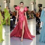 Показ Elie Saab весна 2020 haute couture фото