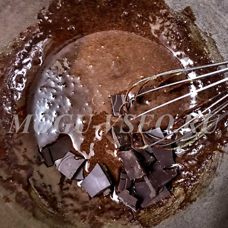 Шоколадно-сливочный мусс рецепт фото