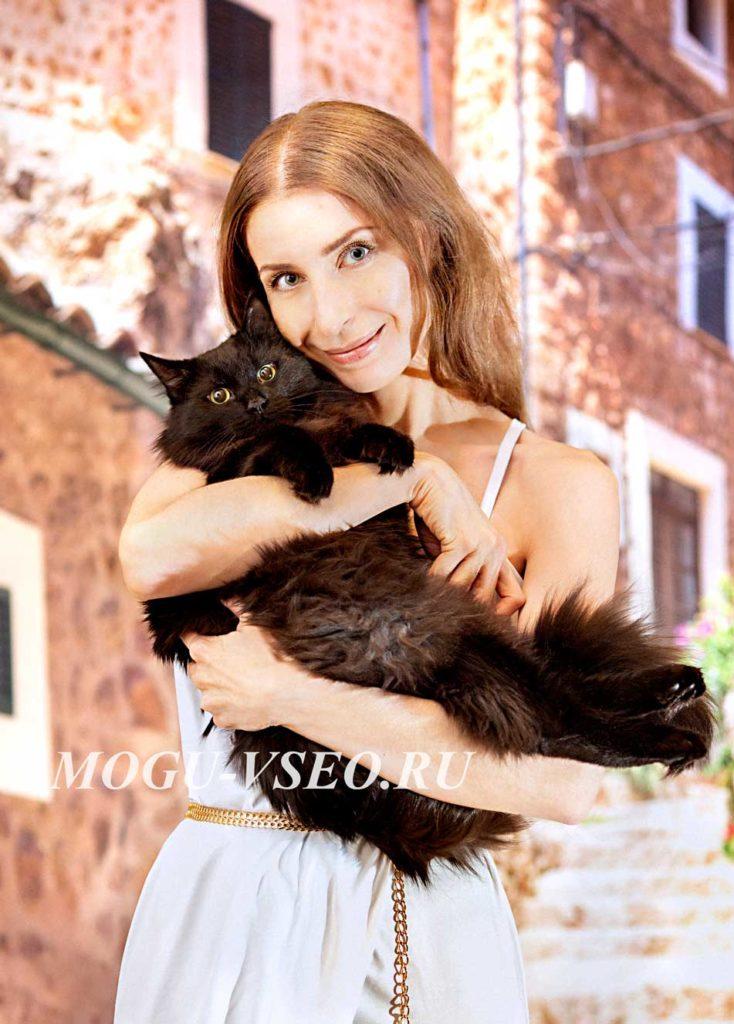 я и мой кот Мишаня фото